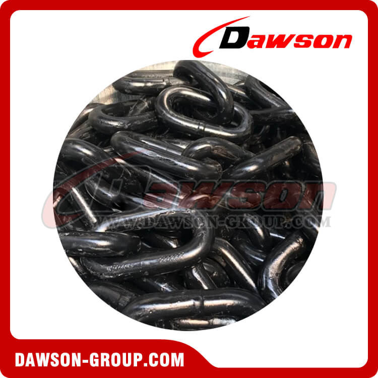 Black Painted Fishing Chain Long Link Chain - Dawson Group Ltd. - China Supplier