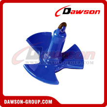 Hot Sale PVC Coated River Anchor for Boat