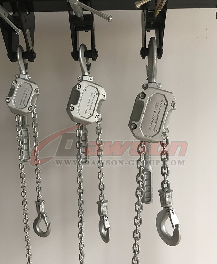 Aluminum Alloy Lever Hoist, Lever Block - China Supplier, Factory
