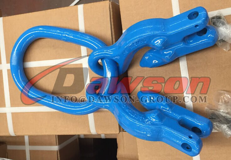 Grade 100 Alloy Steel Master Link with 2 Grab Hook - Dawson Group Ltd. - China Supplier