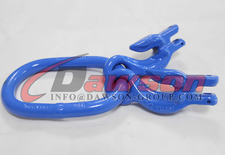 G100 Forged Master Link with 2 Eye Grab Hook with Clevis Attachment for Adjust Chain Length - Dawson Group - China