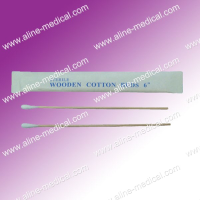Wrapped Individually of The Cotton Tipped Applicator