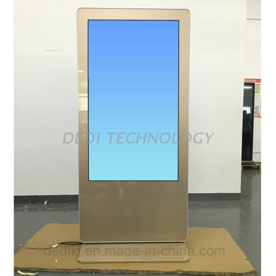Dedi 43 Inch Double Side Free Standing Mall Kiosk with Digital Signage Built-in