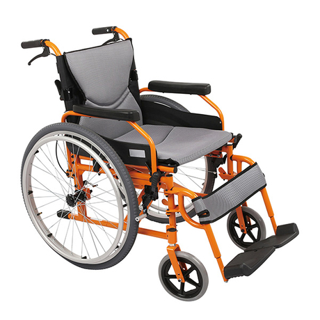 Folding Manual Wheelchair with Swing Away Armrest FC-M5