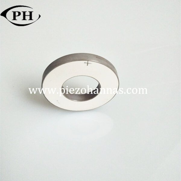 high power piezoelectric ring ultrasonic transducer application