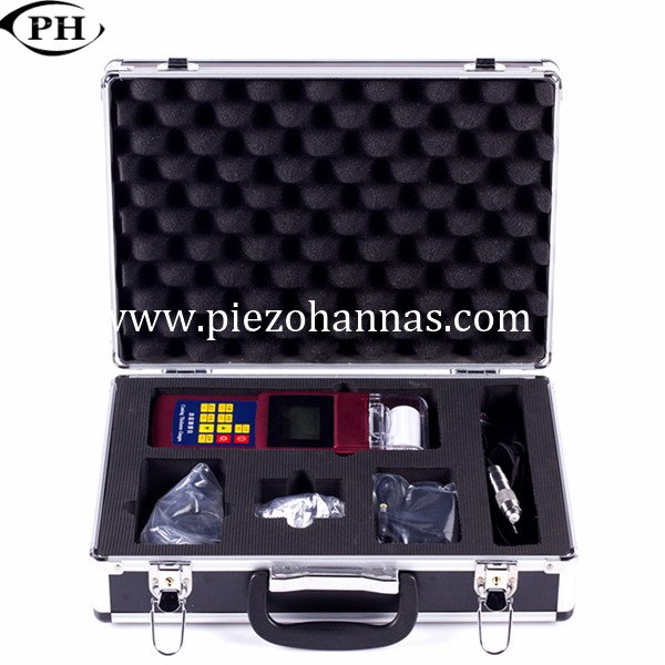 portable LCD paint thickness measurement gauge for fiberglass