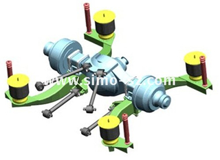 suspension leaf spring air suspension