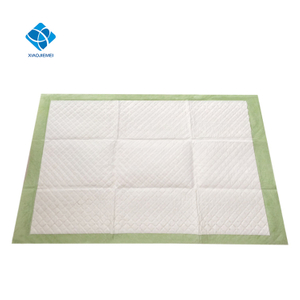 Disposable medium size medical hospital use incontinence care adult care under pad, diaper changing mat, maternity bed mat