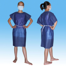 Nonwoven SBPP/SMS Patient Gown for Children