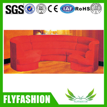 Romantic Rose Red Oval Sofa(OF-49)