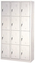 Steel Wardrobe With 12 Doors (SC-36)