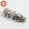 m4 x 30mm stainless steel410 hex bolt half thread used on the furniture