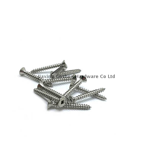 custom stainless steel CSK head self tapping screws
