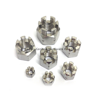 DIN935 metric m8 stainless steel castle head lock nuts
