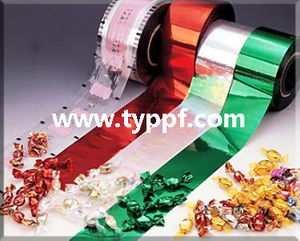Film PVC Metallized Red