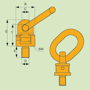 G80 LIFTING SWIVEL