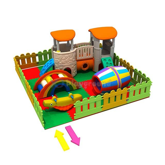 Small Theme Park Soft Indoor Toddler Playground