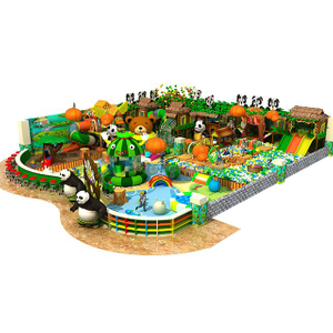 Jungle Themed Adventure Soft Indoor Playground for Kids