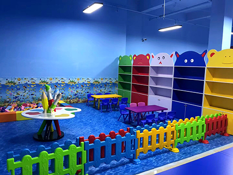 Study Area of Ocean theme indoor playground