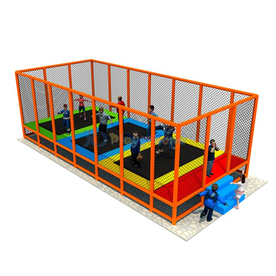 Commercial Amusement Park Kids Indoor Trampoline Park