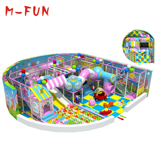 Indoor playground plastic playsets