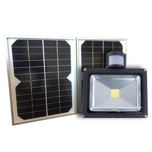 Solar PIR Sensor LED Flood Light