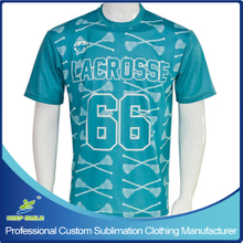 Custom Sublimation Printing Boy's Lacrosse Shooter