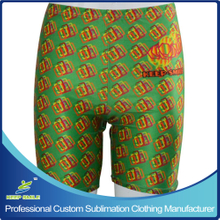 Custom Sublimation Girl's Compression Tight Shorts for Sports Wear