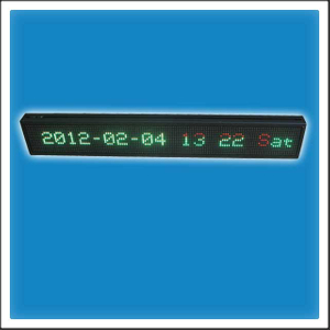 P7.625mm 16 Pixels Height DIP LED Moving Message Display Board (Show Window Sign)