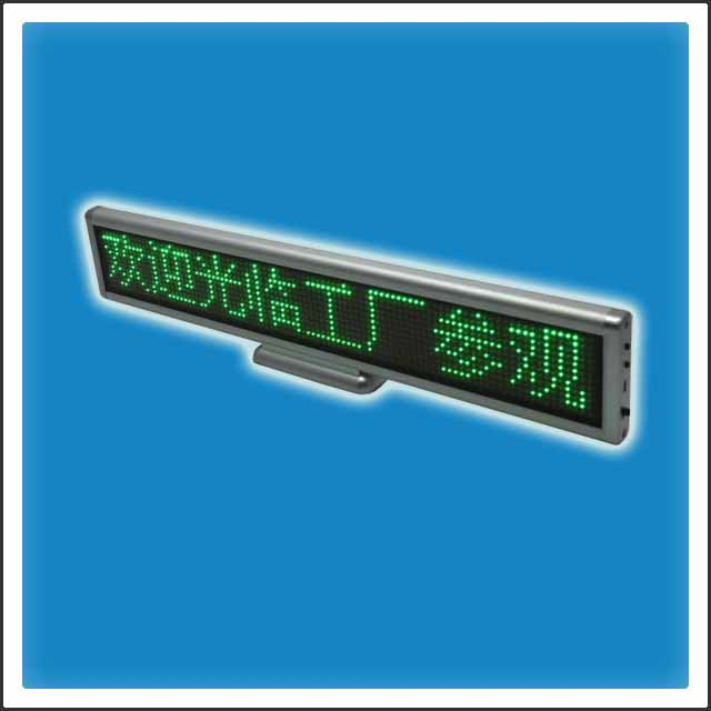SMD Programmable LED Counter Display Sign, Message Board