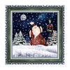(WP038CR-GJG) Plaque Maker Specializing in Christmas Wall Art with Light and Music for your Family