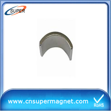 Arc Neodymium magnet Magnetic tile for motor