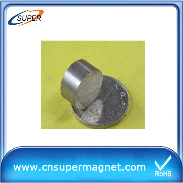 High Quality D15*4mm SmCo Permanent Magnet