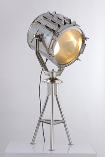 Stainless Steel Hollywood Studio Table Lamp (KM0171T - 1)