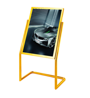 Stainless Steel with L Style Sign Stand for Lobby (ZP-14)
