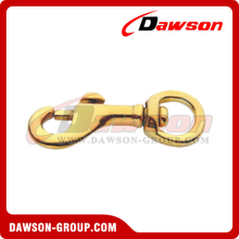 350B Bolt Snap Swivel Round Eye