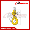 G80 / Grade 80 Clevis Swivel Self-Locking Hook with Bearing for Crane Lifting Chain Slings