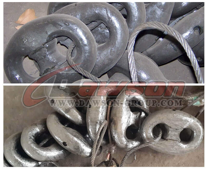 Connecting Shackle for Oil Platform Mooring Chain