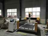 High Z axis wood cnc router is ready to be delivered to UAE