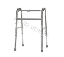YJ-6600A Standard walker folds easily for transport or storage