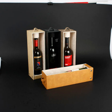 Wine Box Manufacturer Brown PU leather wine glass cardboard gift boxes