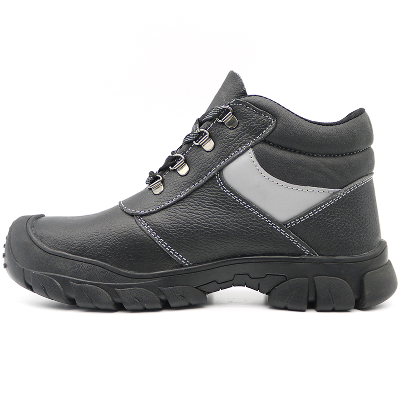 Oil Acid Resistant Steel Toe Safety Boots Men Work Industrial