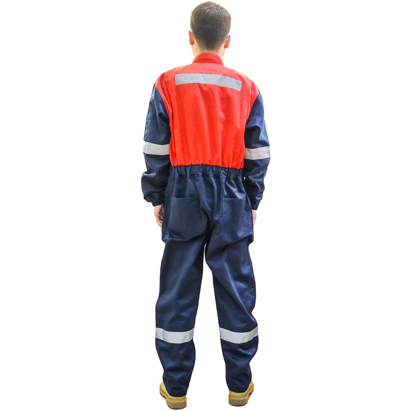 240 Grams Polyester High Visibility Reflective Safety Coveralls