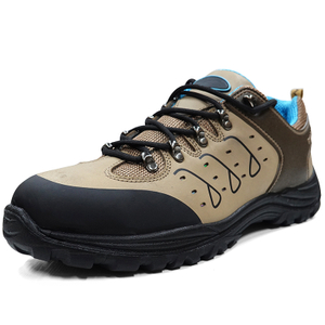 2020 New Genuine Nubuck Leather Safety Work Shoes composite toecap