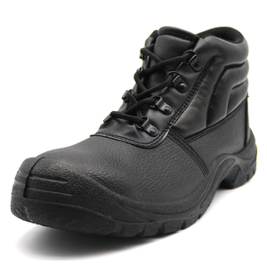 Cheap Black Steel Toe Labor Industrial Safety Shoes