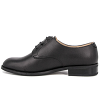 Oxford army ceremonial black leather military office shoes 1249