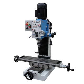 "ZX32G 27 9/16"" x 7 1/16"" Mini Benchtop Drilling Milling Machine R8"