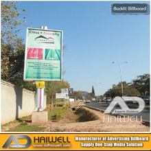 Outdoor LED Illuminated Backlit Billboard Advertising | Bright Green Technology