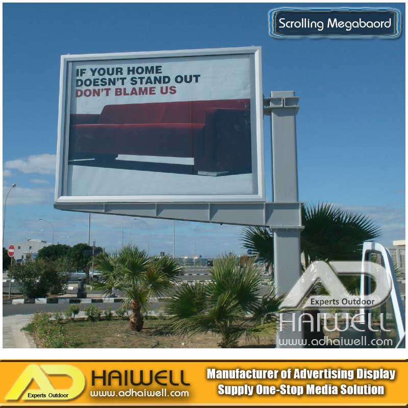 Outdoor Scrolling Mega Advertising LED Light Box