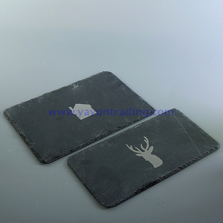 40x30cm customized slate tray without handle